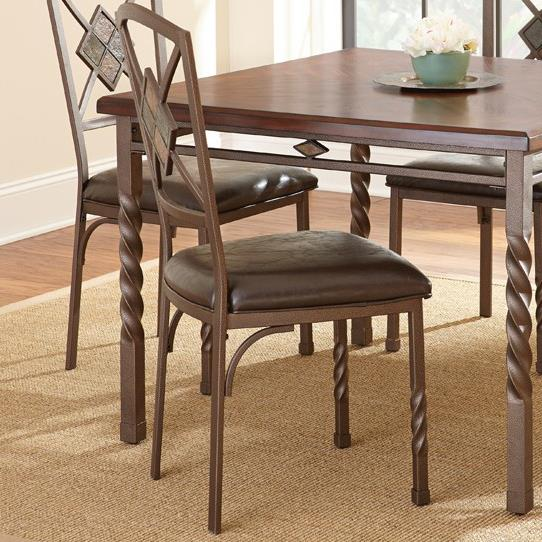Steve Silver Annabella Side Chair - Item Number: AB420S
