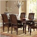 Steve Silver Antoinette Leg Dining Table - Item Number: AN100T