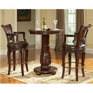 Vendor 3985 Antoinette 3-Piece Pub Table Set