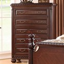 Morris Home Antoinette Chest of Drawers - Item Number: AY900CT