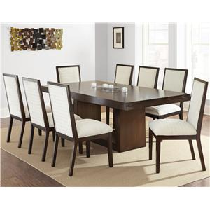 Steve Silver Antonio 7 Piece Dining Set