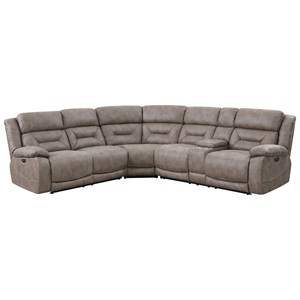 3 Piece Reclining Sectional Sofa