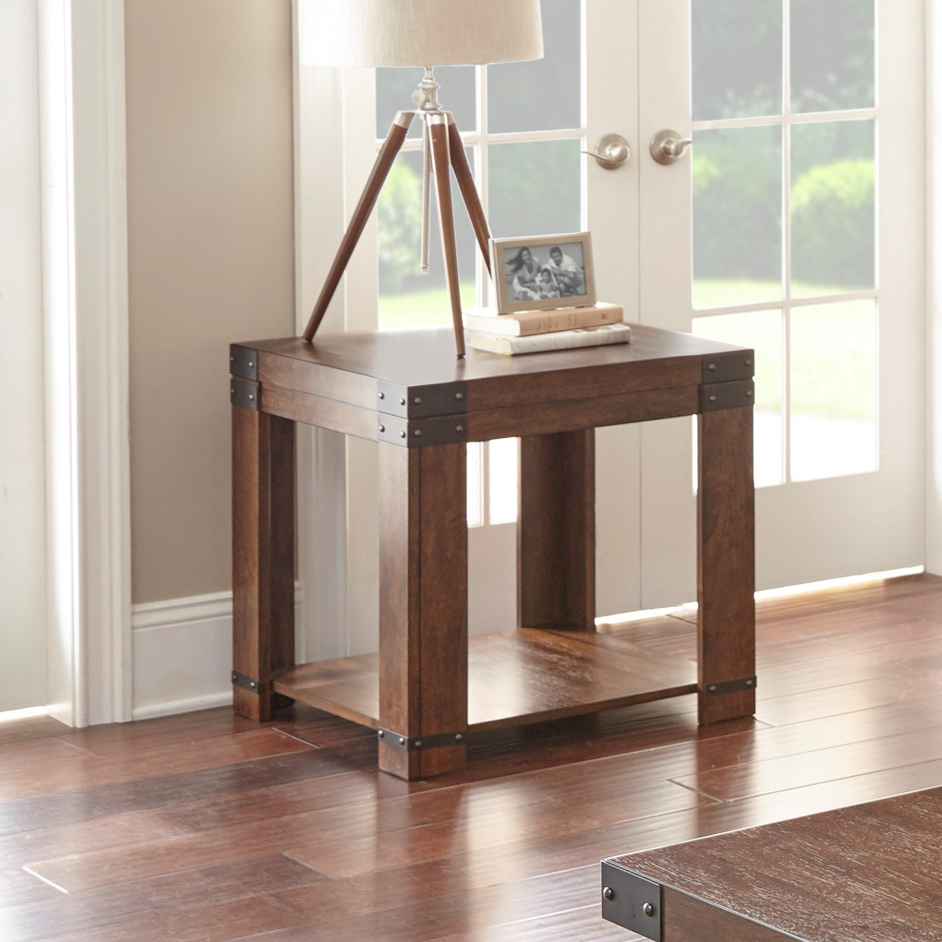 Arusha End Table by Steve Silver at Walker's Furniture