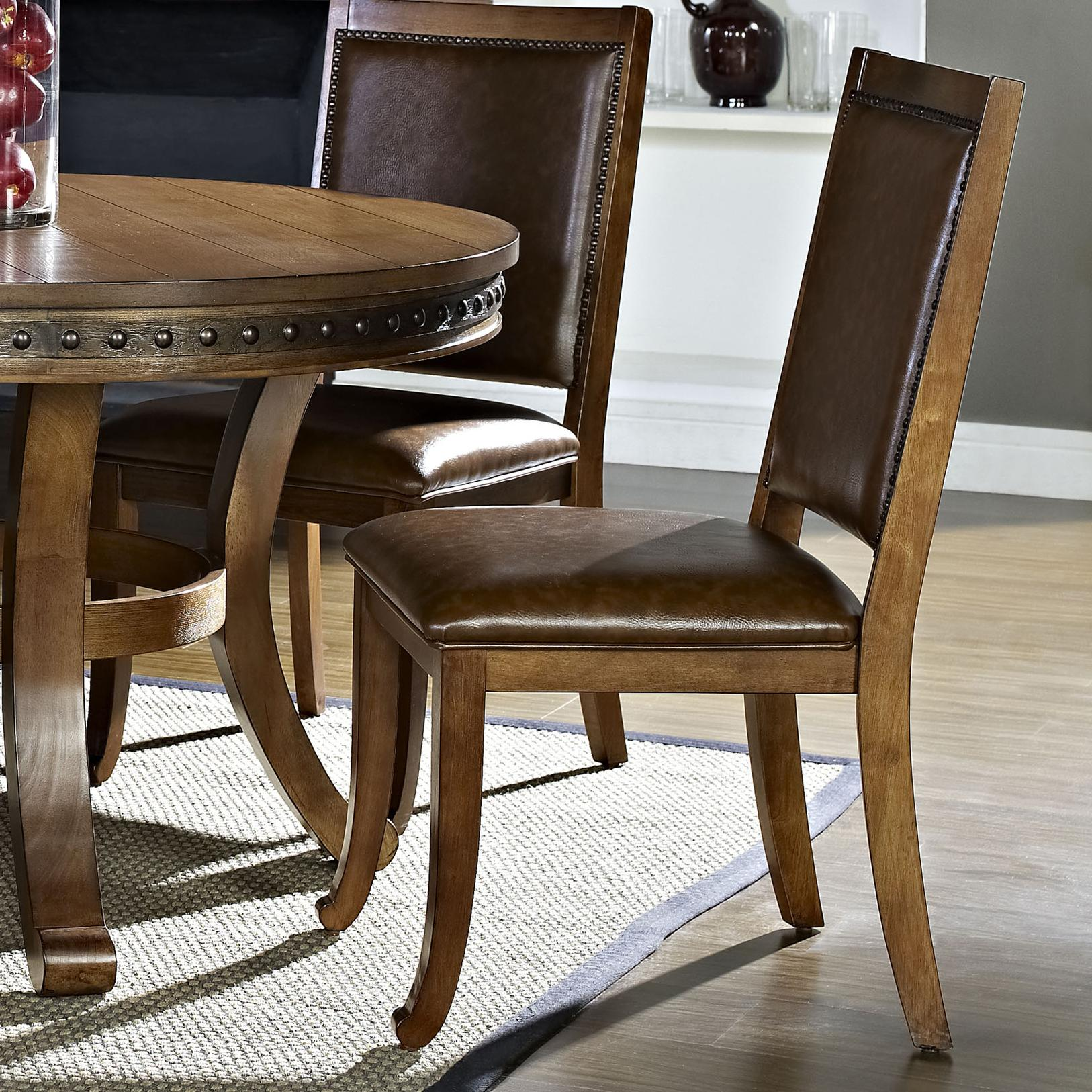Steve Silver Ashbrook Side Chair - Item Number: AB480S