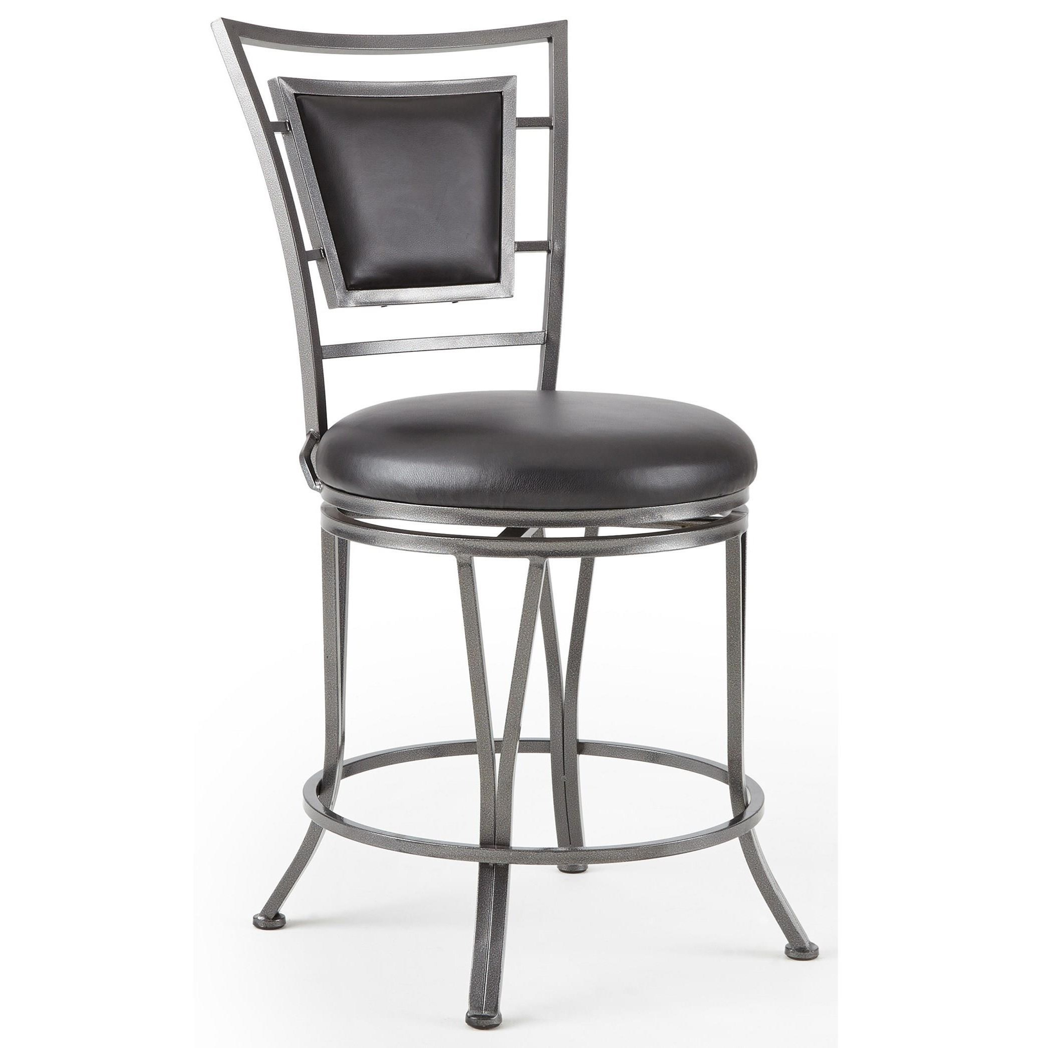 Steve Silver Atena 360 176 Swivel Counter Stool With Flame