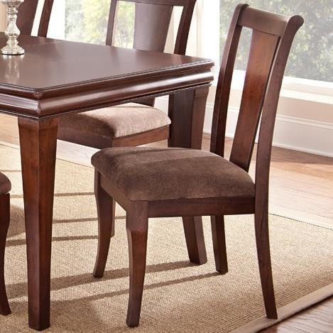Steve Silver Aubrey Side Chair  - Item Number: AU300S