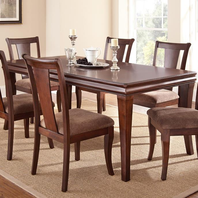 Steve Silver Aubrey Dining Table - Item Number: AU300T