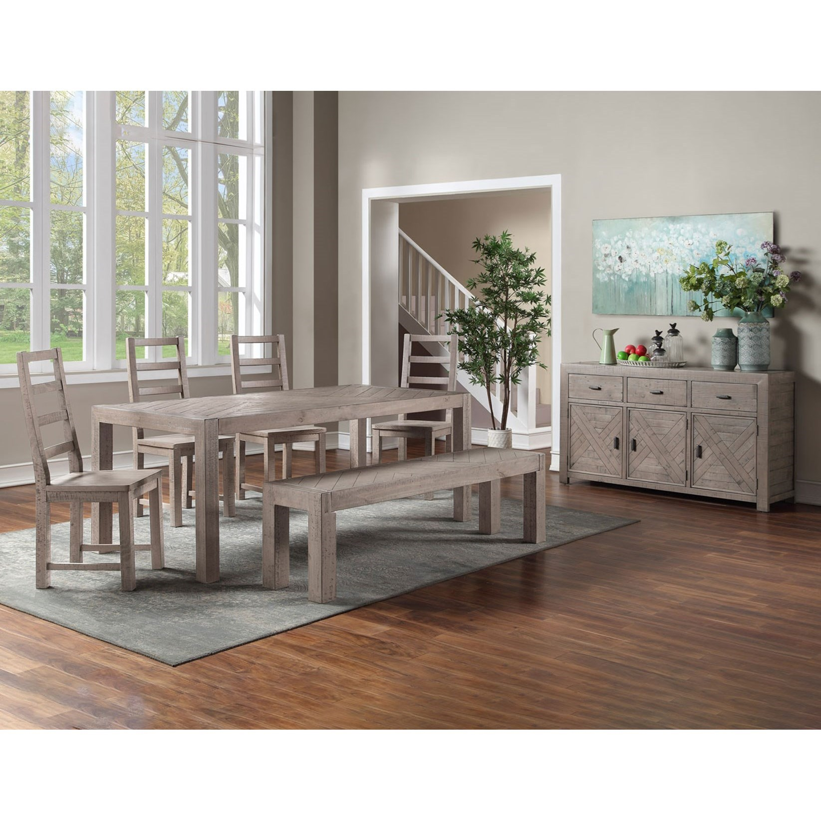 Auckland Dining Room Group by Star at EFO Furniture Outlet