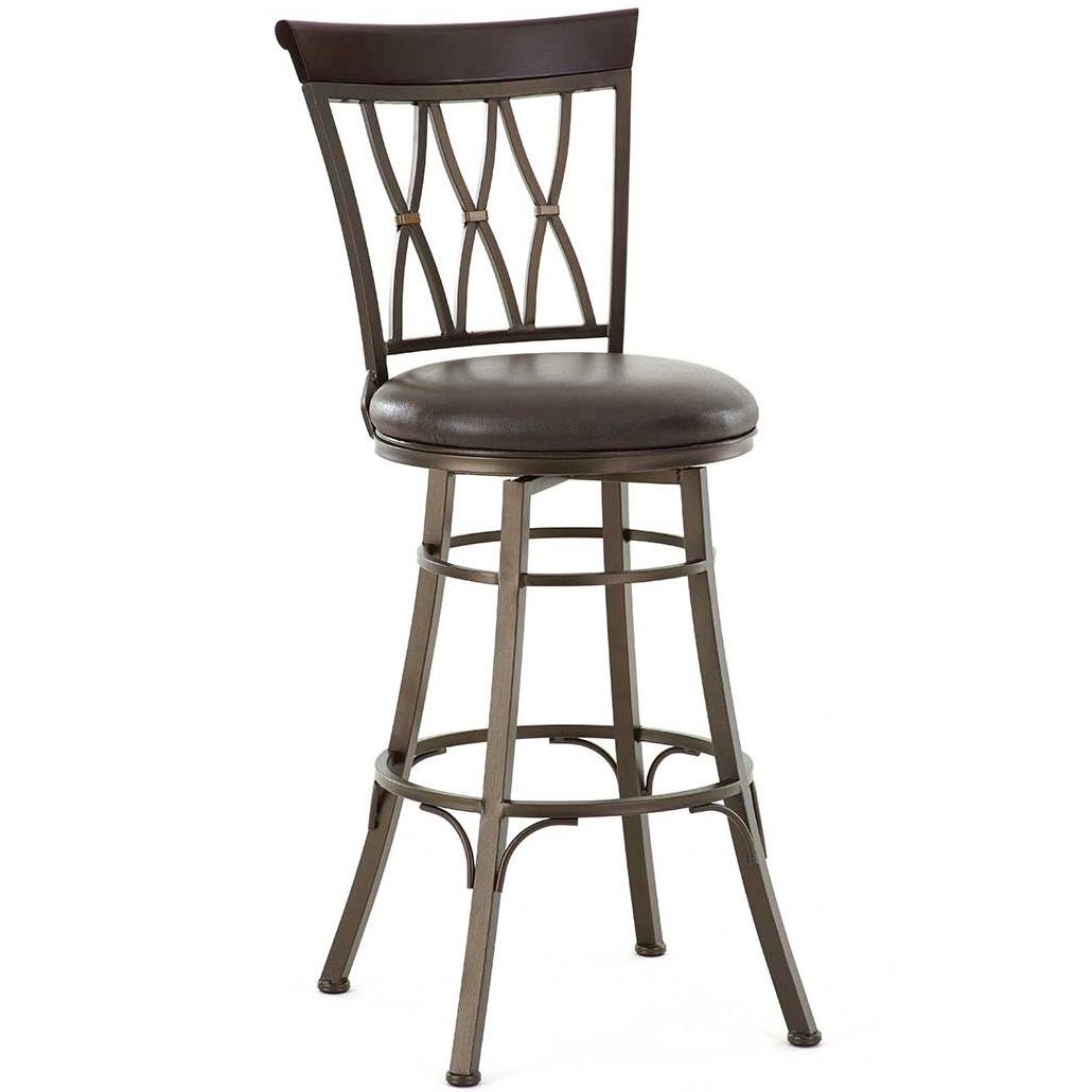 Steve Silver Bali Swivel Bar Chair - Item Number: BL600SBC