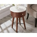 Steve Silver Bangalore Accent Table - Item Number: BG160WEC