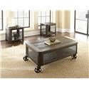 Steve Silver Barrow Cocktail Table with 2 End Tables - Item Number: 862520004