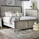 Steve Silver Bear Creek Queen Panel Bed - Item Number: BC900+QFB+QHB+SR
