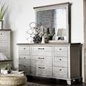 Morris Home Bear Creek Dresser and Mirror Set - Item Number: BC900DR+MR