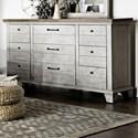 Steve Silver Bear Creek Dresser - Item Number: BC900DR