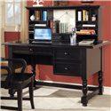 Vendor 3985 Bella Desk and Hutch - Item Number: B125DB+HB