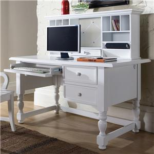 Morris Home Furnishings Bella Desk and Hutch
