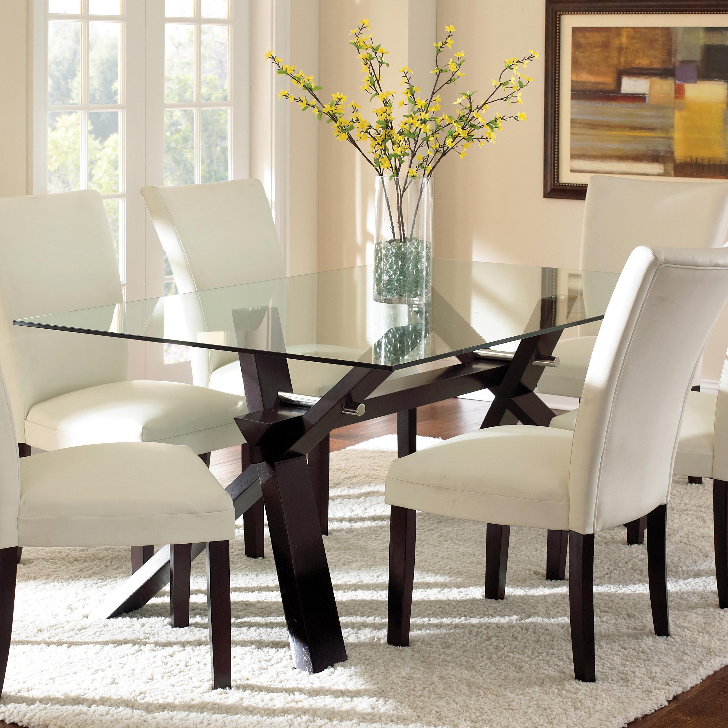 Steve Silver Berkley Dining Table - Item Number: BE500GTN+BN