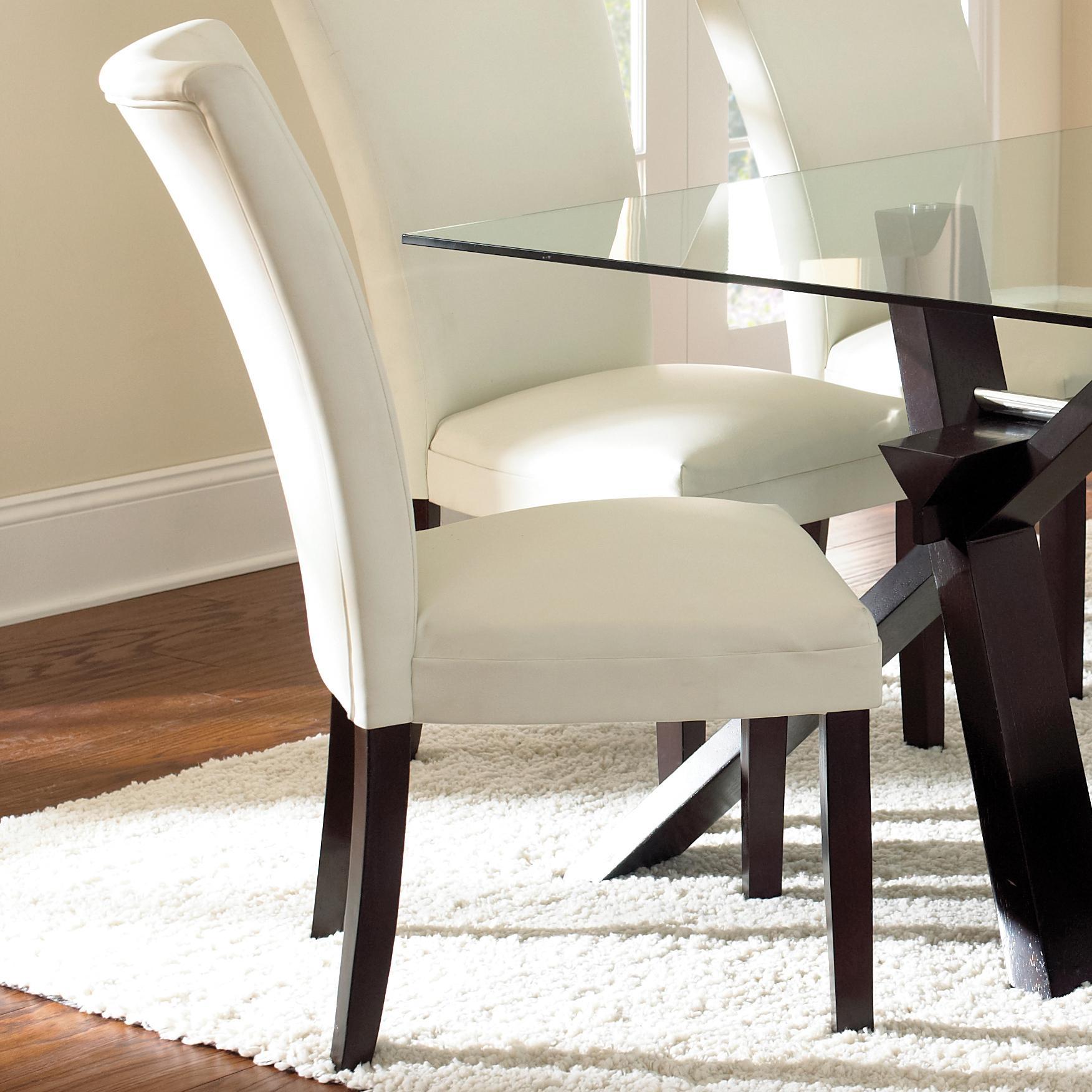 Steve Silver Berkley Bonded Parsons Chair - Item Number: BE550SN