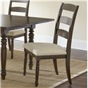Vendor 3985 Bexley Ladderback Side Chair - Item Number: BY550S