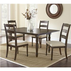 Vendor 3985 Bexley 5 Piece Dining Set