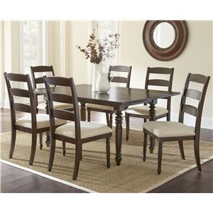 Morris Home Furnishings Bexley 7 Piece Dining Set