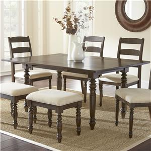 Morris Home Furnishings Bexley Dining Table