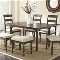 Vendor 3985 Bexley Dining Table - Item Number: BY550T