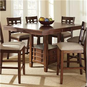 Morris Home Furnishings Bolton Storage Counter Table
