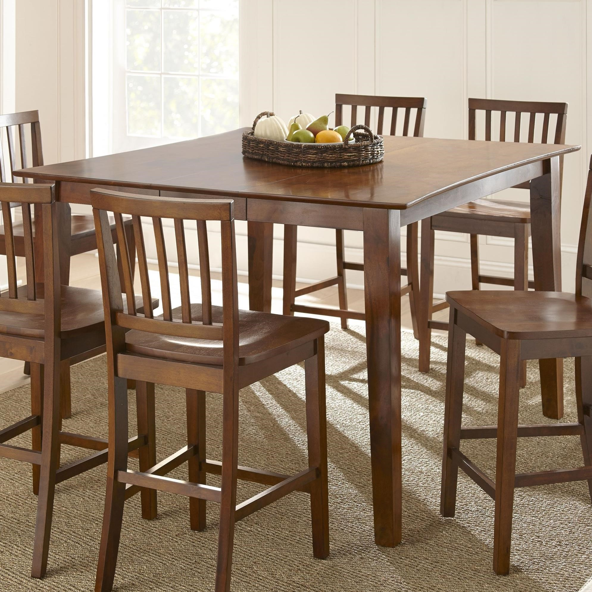 Prime Branson Counter Height Dining Table Prime Brothers Furniture Pub Tables