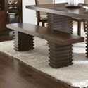 Steve Silver Briana Dining Bench - Item Number: BN800BNB+T