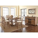 Vendor 3985 Britta Dining Room Group - Item Number: Casual Dining Room Group 1