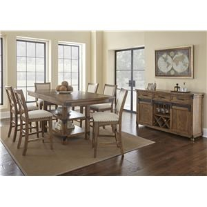 Steve Silver Britta 5 PC Table & Chair Set