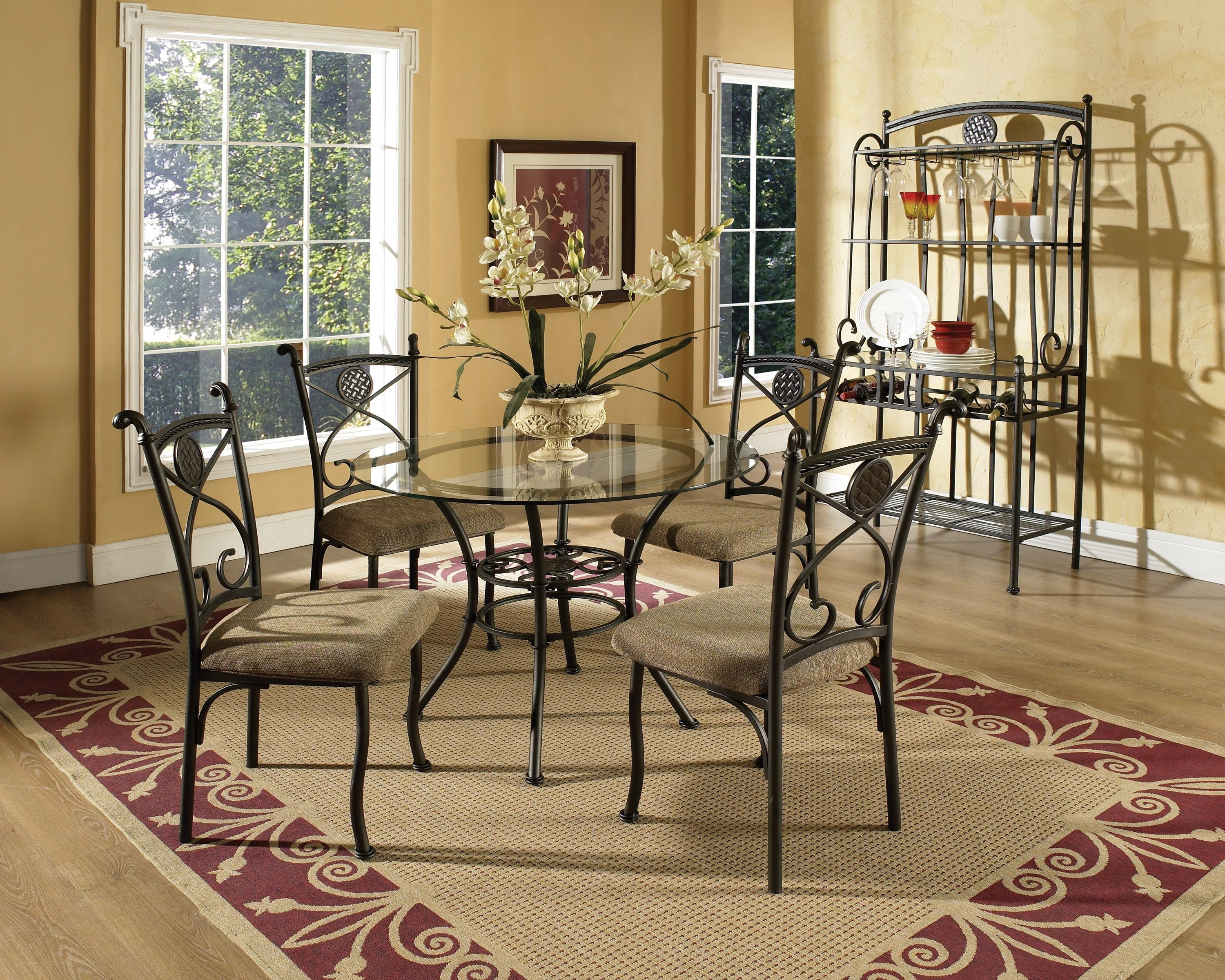 Steve Silver Brookfield Casual Dining Room Group - Item Number: 420 Dining Room Group 1
