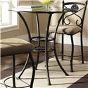 Steve Silver Brookfield 3 Piece Counter Table and Chair Set - Set Includes Counter Height Table