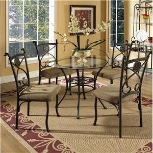 Vendor 3985 Brookfield 5 Piece Dining Set