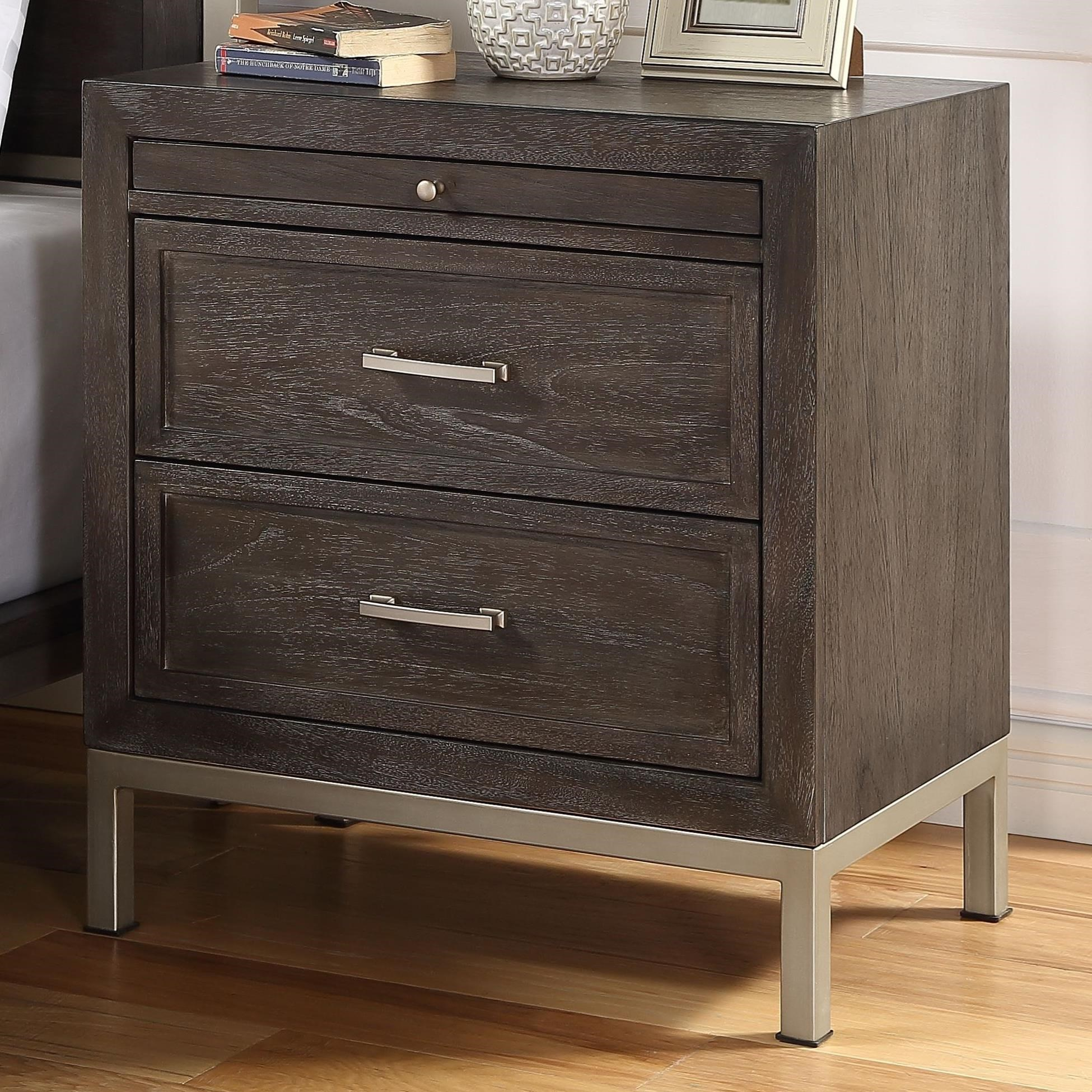 Broomfield Nightstand by Steve Silver at Standard Furniture