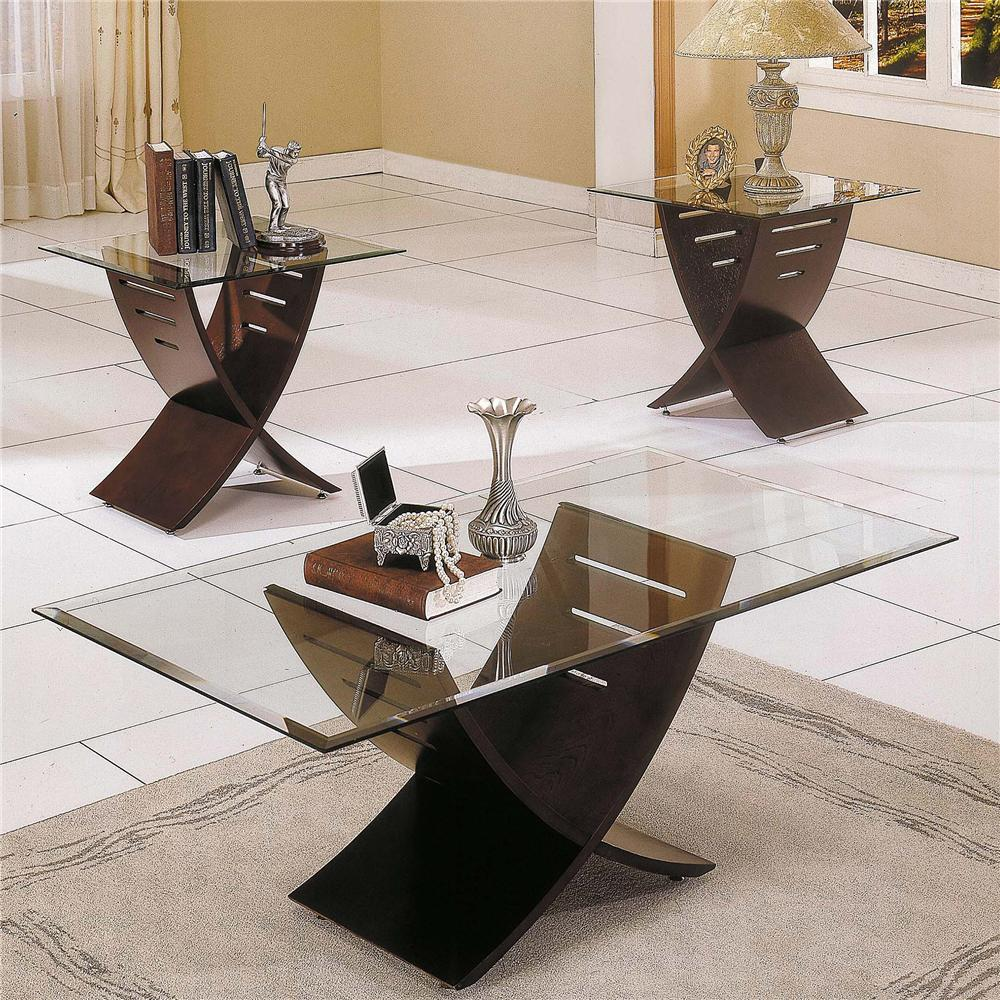 Steve Silver Cafe  3 Pack Occasional Table Group - Item Number: CA125T+B