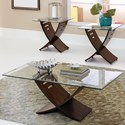 Steve Silver Cafe 3 Pack Occasional Table Group - Item Number: CA150BH+125T