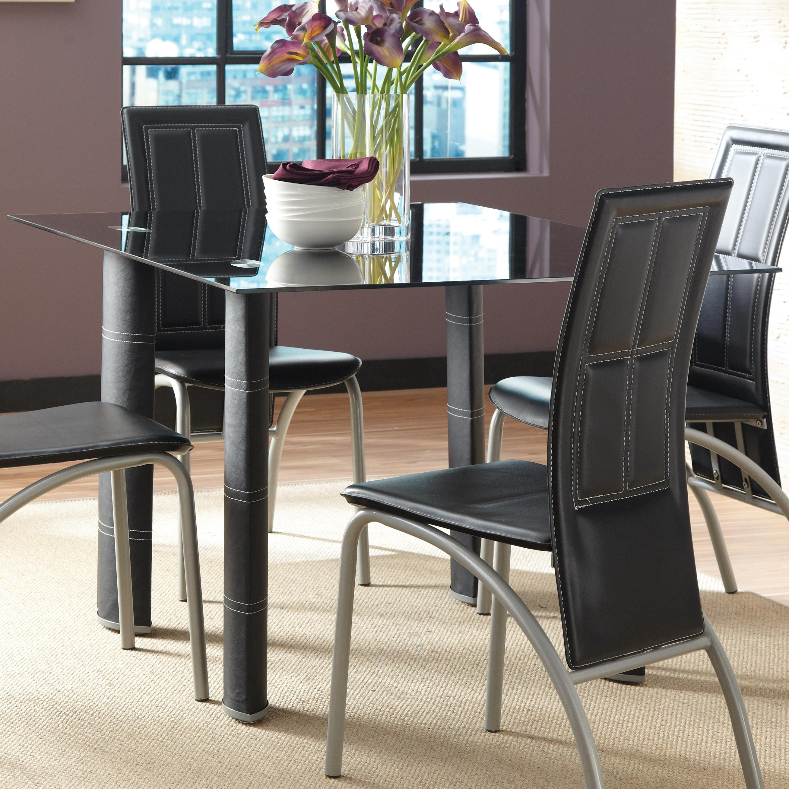 Steve Silver Calvin Dining Table - Item Number: CV380B+T