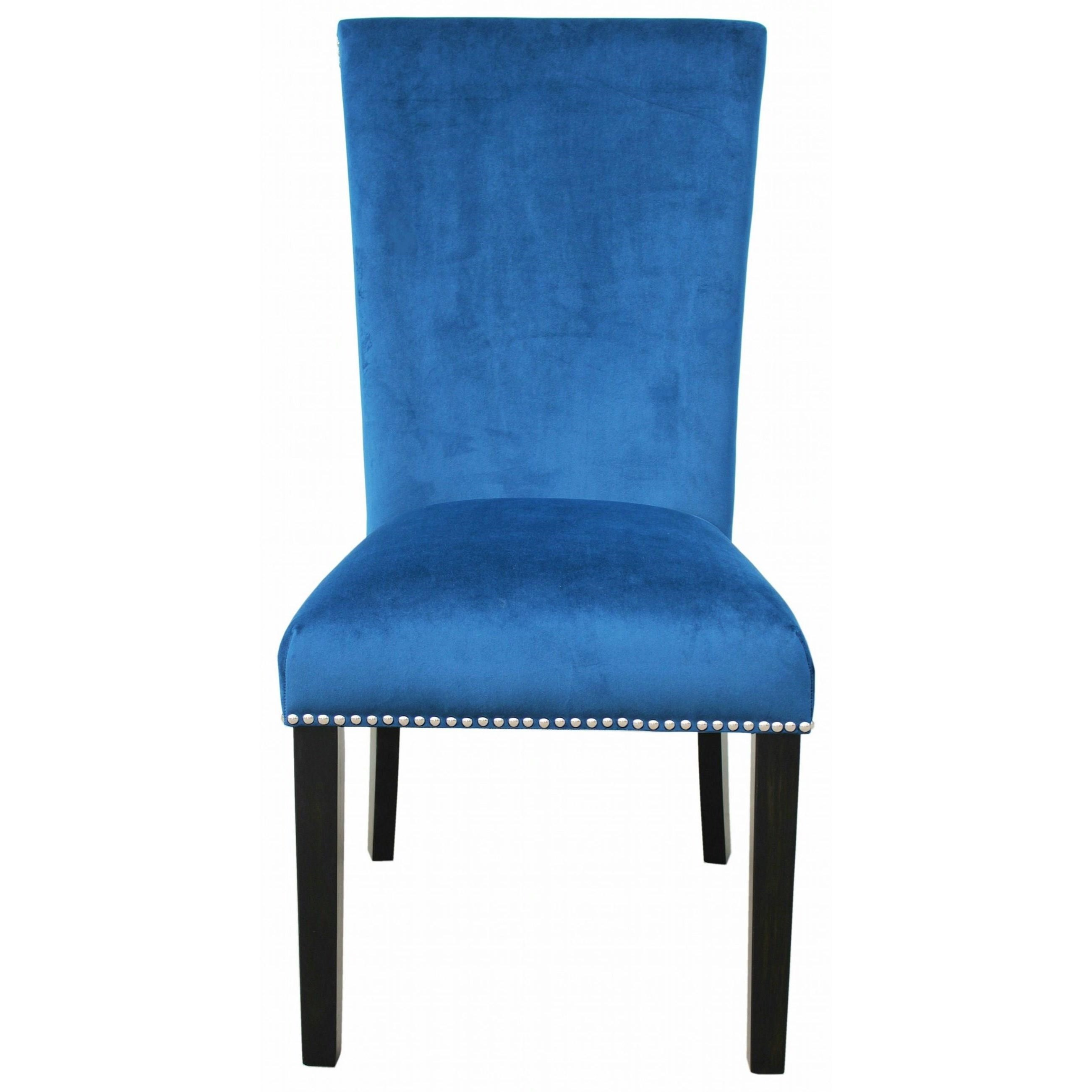 Camila Dining Chair with Nailhead by Steve Silver at Walker's Furniture