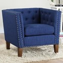 Steve Silver Campbell Accent Chair - Item Number: CM850ACB