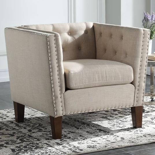 Campbell Accent Chair by Steve Silver at Standard Furniture