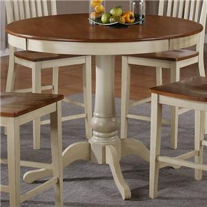Steve Silver Candice Counter Pedestal Table