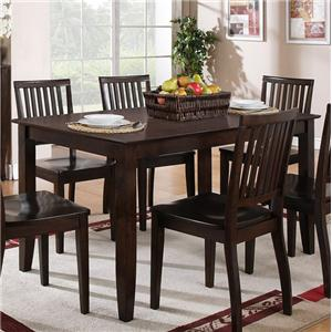 Morris Home Furnishings Candice Rectangular Dining Table