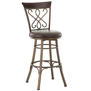 Steve Silver Carmona Swivel Bar Chair