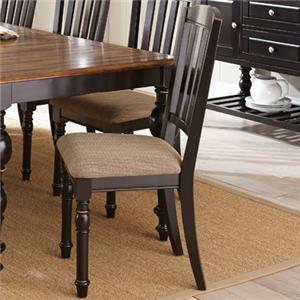 Vendor 3985 Carrolton Slat Back Side Chair