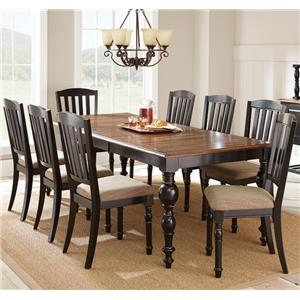 Steve Silver Carrolton 9 Piece Dining Set