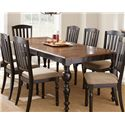 Morris Home Furnishings Carrolton Dining Table - Item Number: CR700T