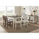 Steve Silver Cayla Casual Dining Room Group - Item Number: CY-W Dining Room Group 3