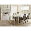 Steve Silver Cayla Dining Table with 16